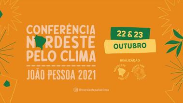 João Pessoa sediará Conferência Nordeste pelo Clima