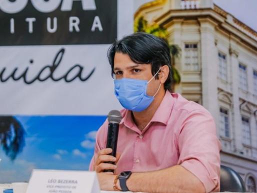 Plataforma de gestão unirá transparência e tecnologia na PMJP, revela Leo Bezerra