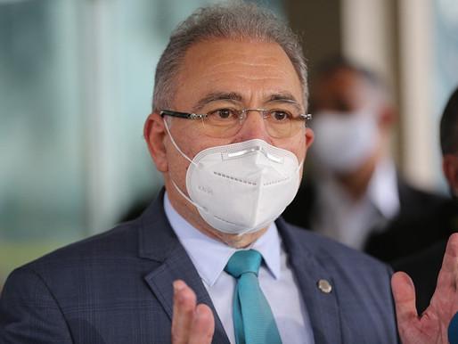 Ministro Marcelo Queiroga fala à Comissão da Covid-19 nesta segunda