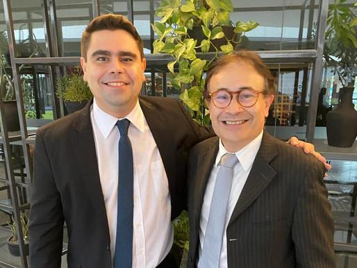 Advogado e professor Aécio Melo declara apoio a Harrison Targino na OAB-PB