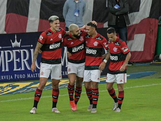 Flamengo goleia Volta Redonda e se classifica para a final do Carioca