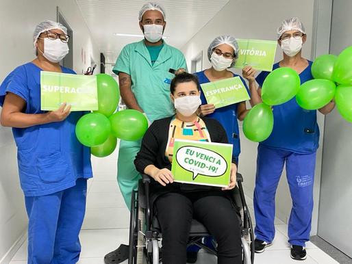 'Estou me sentindo um milagre de Deus', relata último paciente de Manaus a ter alta do HU de JP