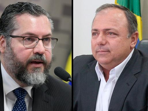 CPI ouve ex-ministros Ernesto Araújo e Eduardo Pazuello na próxima semanaFonte: Agência Senado
