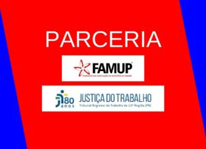 FAMUP e TRT firmam parceria para ajudar municípios no combate à covid-19 com recursos de multas
