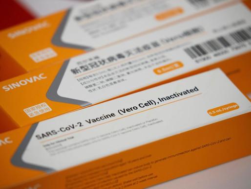 Butantan entrega mais 2 milhões de doses da vacina contra a covid-19