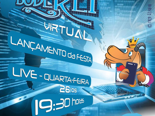 Festa do Bode Rei divulga programação durante live, nesta quarta-feira (26)