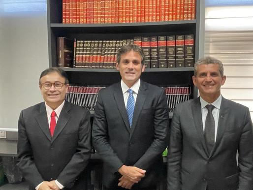 Carlos Frederico e Rodrigo Farias declaram apoio a Harrison nas eleições da OAB-PB