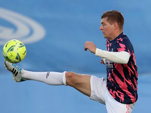 Com covid-19, Kroos desfalcará Real na final do Espanhol