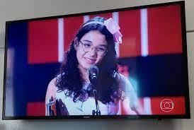 Paraibana vai disputar final do The Voice Kids na semana que vem