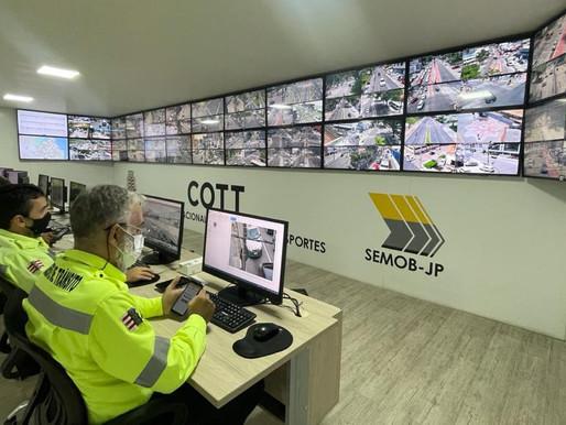 Semob-JP inicia fiscalização de irregularidades no trânsito através das 14 novas câmeras