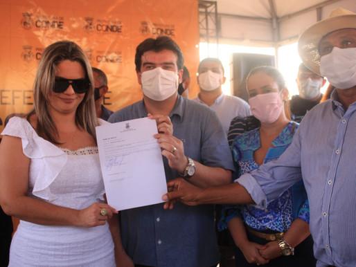 """Presidente da Câmara ratifica apoio a Karla Pimentel: """"honra o dinheiro do povo do Conde"""""""