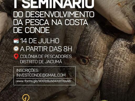 Empreender municipal realizará seminário sobre desenvolvimento da pesca na Costa do Conde