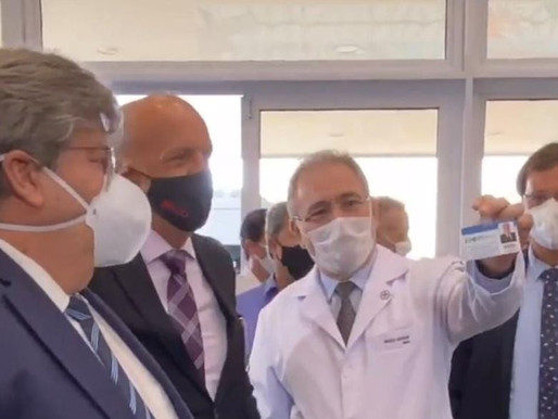 Marcelo Queiroga será ouvido por Comissão Temporária da Covid-19 nesta segunda