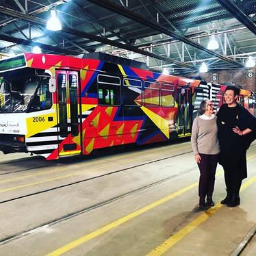 Melbourne Art Trams