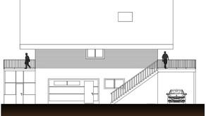 Einbau Loft in Nebengebäude