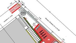 Parkplätze im Strukturerhaltungsgebiet