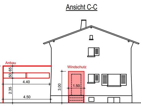 Wohnraumerweiterung durch Anbau