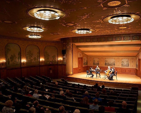 CAPS Members performing in Reinberger Chamber Hall