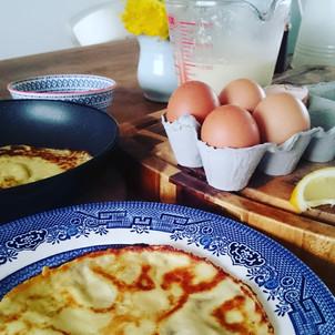 Organic Pancake Recipe