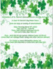 2020 St Patricks Day Flyer for web site.