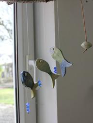 Fischgirlande / Windspiel