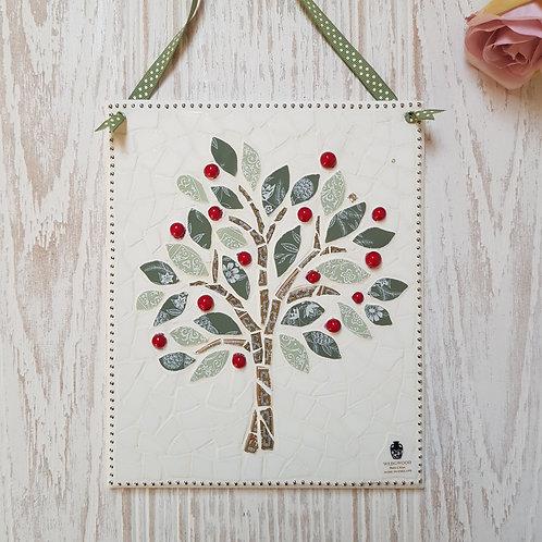 Apple Tree - Wedgwood Fine China Mosaic Picture