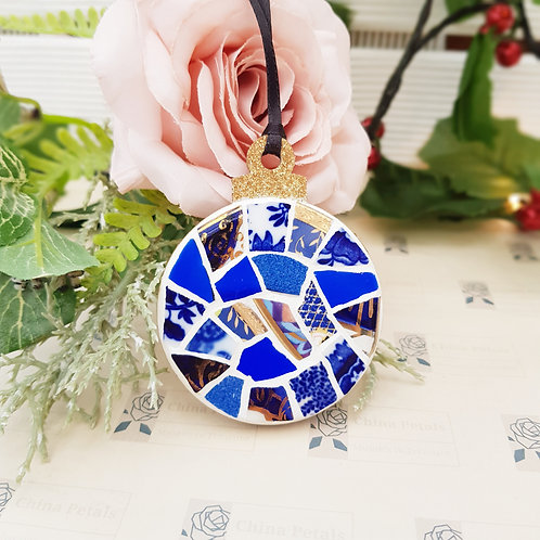 Mini Blue Bauble