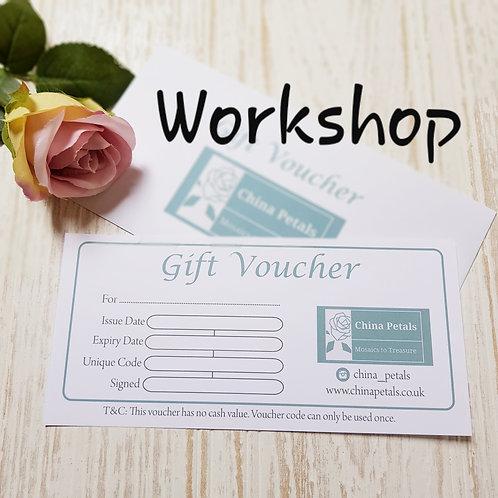 3 Hour Workshop Gift Voucher