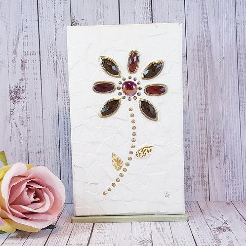 Jewel Flower Mosaic
