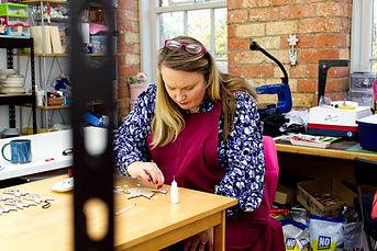 China Petals - Diane at work.jpg