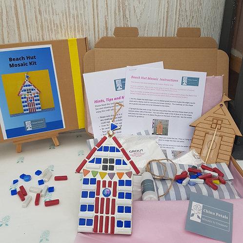Beach Hut Mosaic Kit