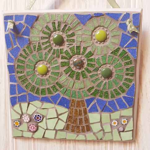 Stylised Mosaic Tree