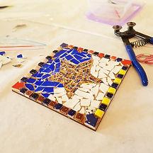 China Petals china mosaic workshop