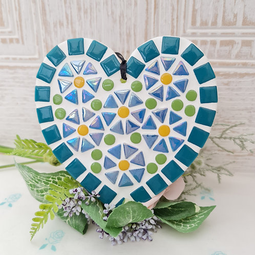 Forget-Me-Not Heart Mosaic Kit