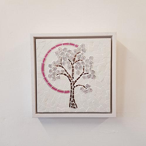 Blossom Tree - a fine china mosaic