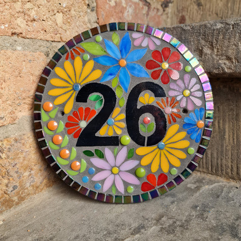 Bespoke House Number - enquires welcome