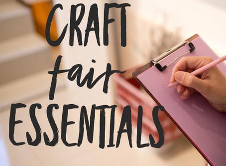 Craft Fair Essentials