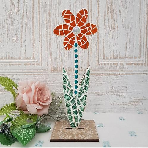 Free Standing Flower mosaic