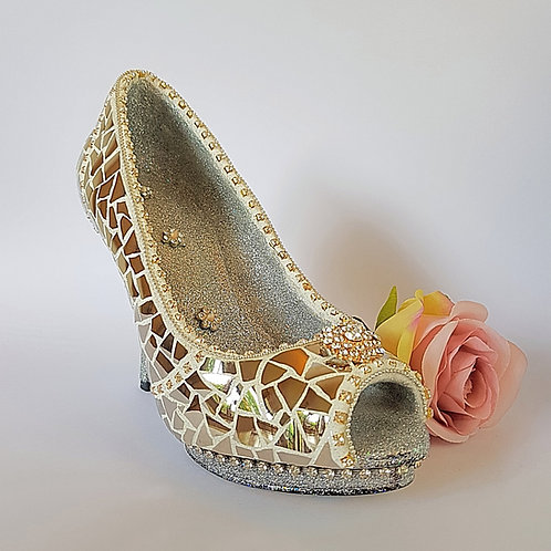 Silver China Slipper