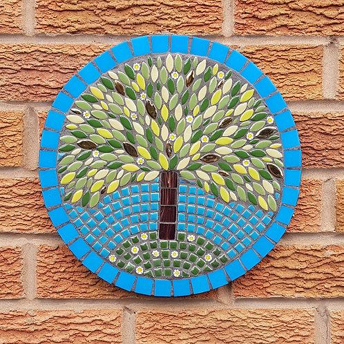 Summer Tree Garden Mosaic
