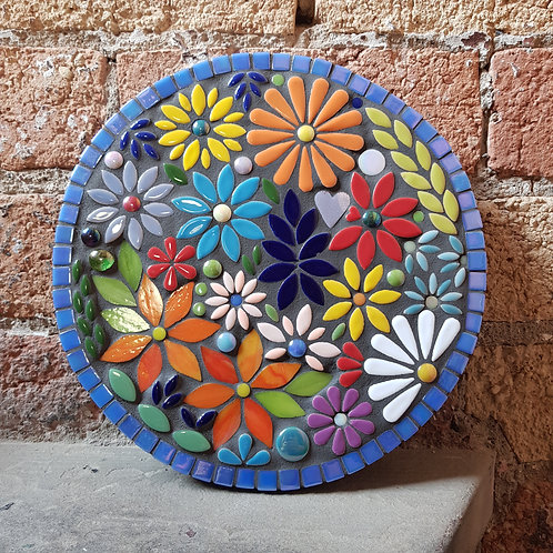 Garden Mosaic For Leann