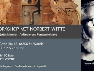 Kunstworkshop mit Norbert Witte