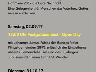 Veranstaltungsprogramm 2017