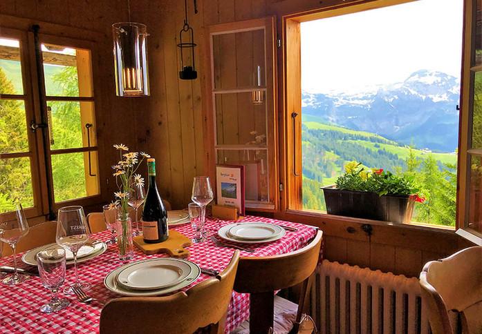 Laubbärgli Resto view