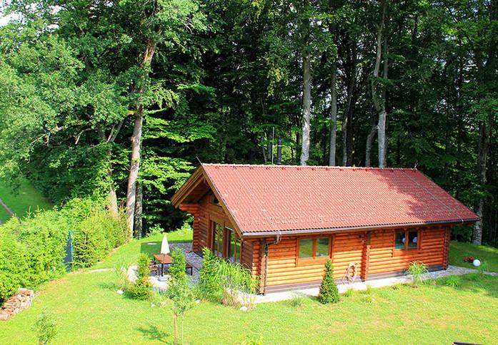Hütte am Wald Salzburg