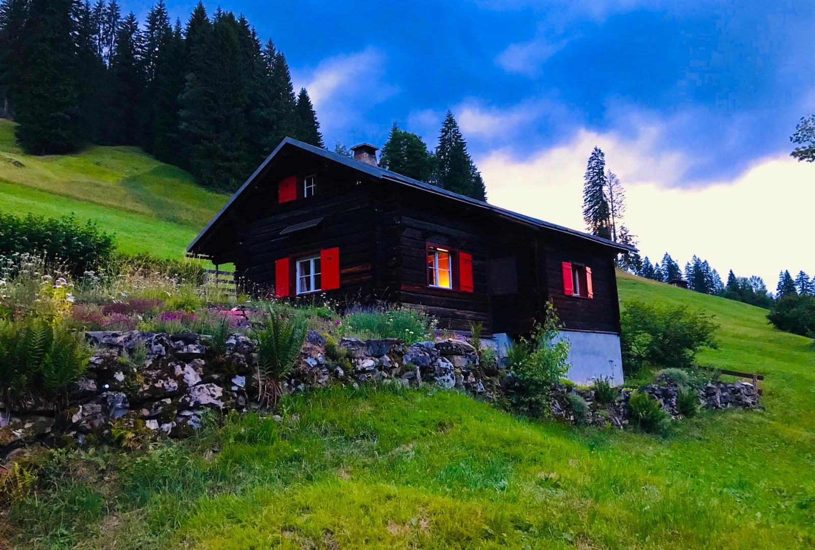 Berghütte Maiensäss Mälchboden mieten