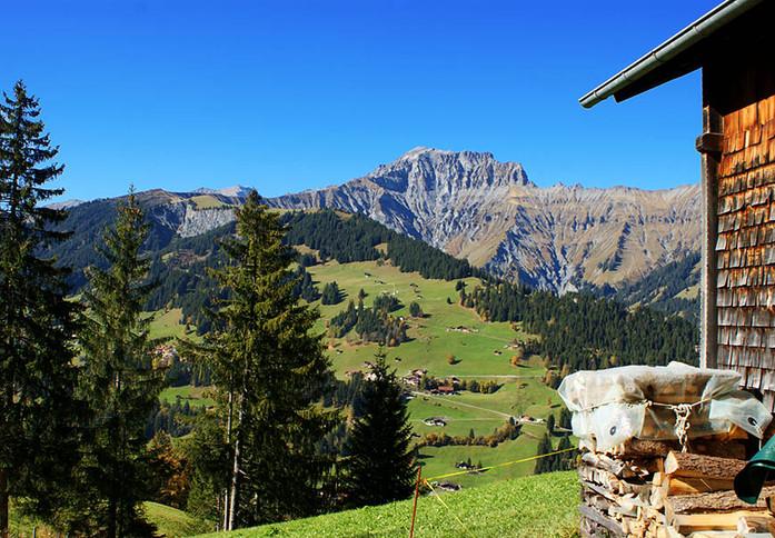 Alphütte Heuzündli Adelboden