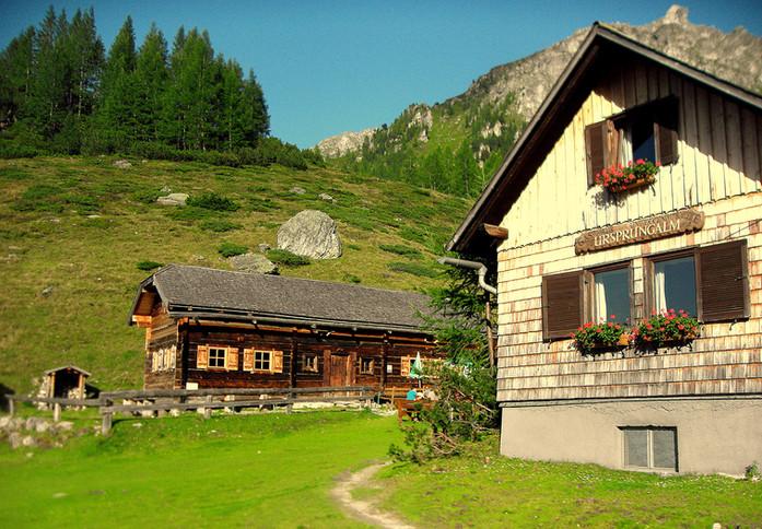 Stoanerhütte m.Griller, Kamp u.Gasthaus