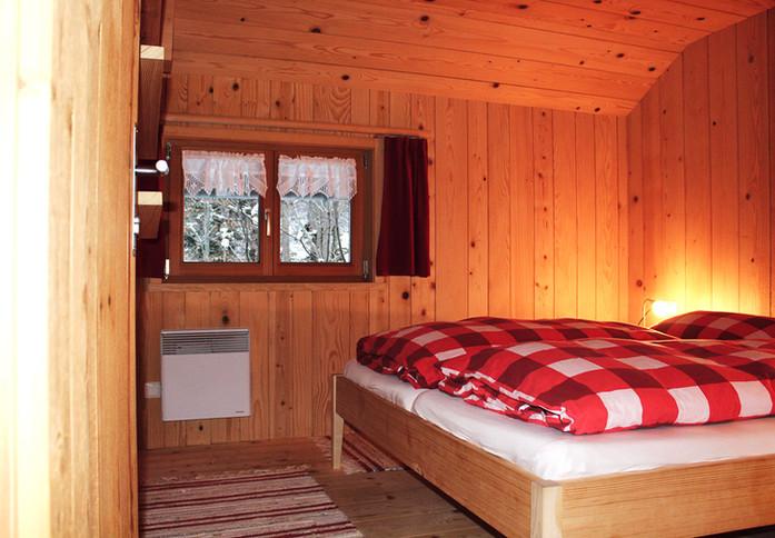 Huettenstudio-Separates Schlafzimmer ber