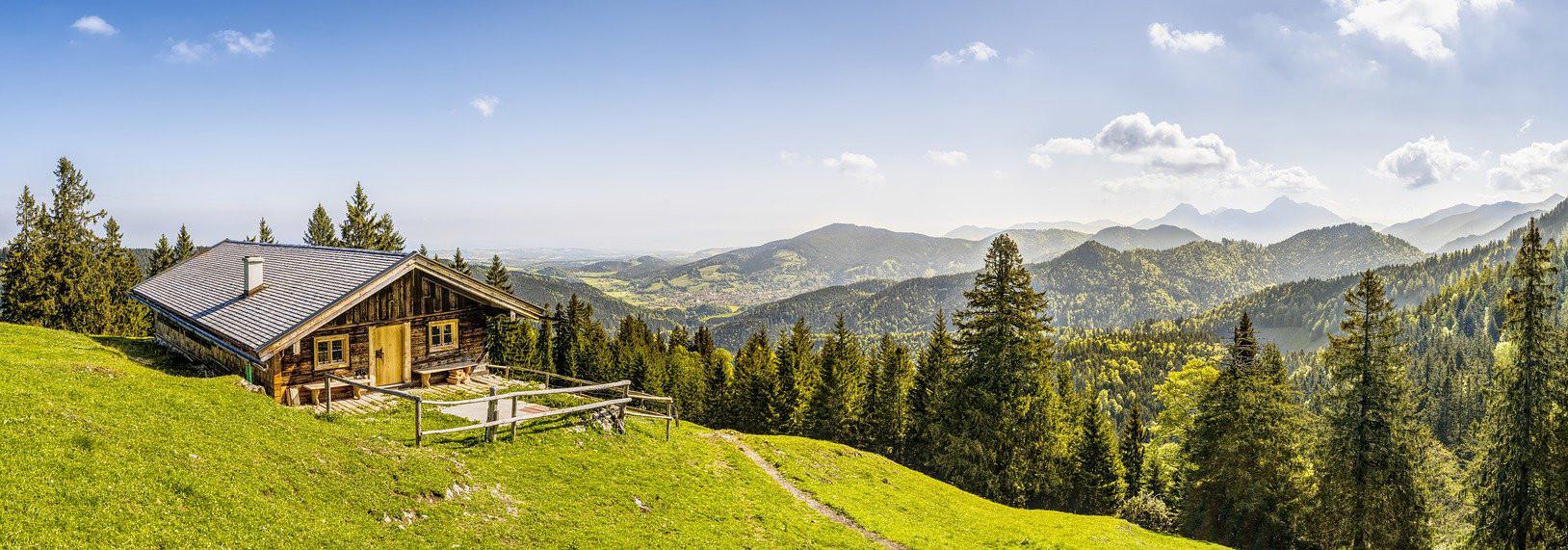 schweiz berghütte mieten maiensäss rusti